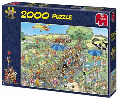 Jan Van Haasteren The March Puzzle (2000 Pieces) - Games/Puzzles