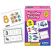 Frank Number Tracing Cards