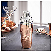 Fox & Ivy Copper Hammered Cocktail Shaker