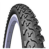 Rubena Rapid MTB & Cross Country Tyre, 26 x 2,00 (52-559), black.