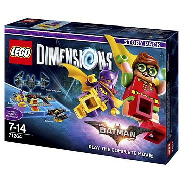 LEGO Dimensions LEGO Batman Movie Story Pack Catalogue Number