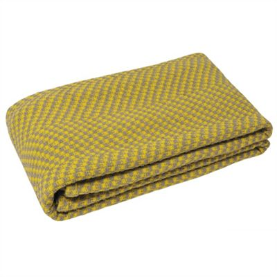 Riva Home Denver Yellow Throw - 150x200cm