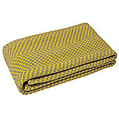 Riva Home Denver Yellow Throw - 150x200cm