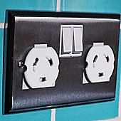 Safetots Plug Socket Covers Pack of 24