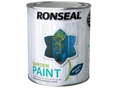 Ronseal RSLGPMB25L 2.5 Litre Garden Paint - Midnight Blue