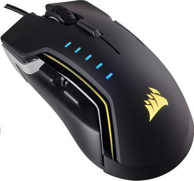 Corsair Gaming Glaive RGB Gaming Optical Mouse - Aluminum