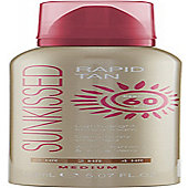 Sunkissed Rapid Tan Mousse 150ml - Medium