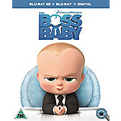 The Boss Baby 3D Blu-ray
