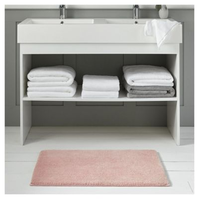 Fox & Ivy Supremely Soft Rose Pink Bath Mat