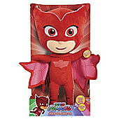 PJ Masks Sing And Talk Owlette Soft Toy