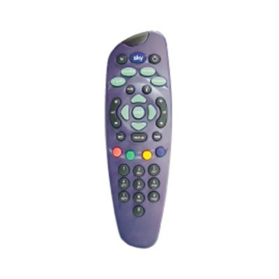 Replacement Spare Sky TV Remote Control Blue