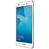Honor 5C Smartphone Silver (5.2 inch FHD, Metal, Touchscreen, DualSIM, MicroSD, Octa-Core, 2GB RAM, 16GB ROM, 13MP rear camera, 8MP front camera,