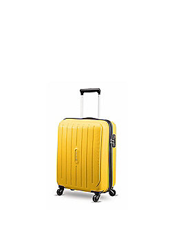 Carlton Phoenix 4-Wheel Hard Shell Yellow Cabin Case