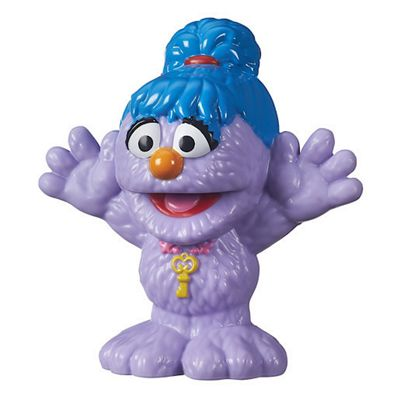 Playskool Sesame Street The Furchester Hotel Phoebe Figure