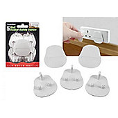 Lloytron Pack of 5 Wall Socket Safety Covers