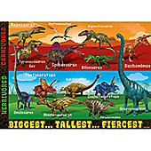 Extreme Dinosaurs - Giant Floor Puzzle - 60pc