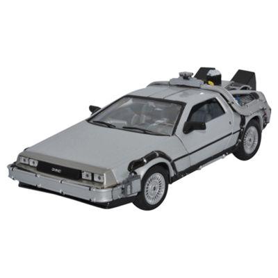 Back To The Future II Delorean Time Machine 1:24 Scale Diecast Model
