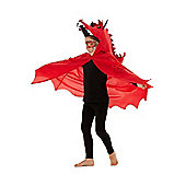 F&F Welsh Dragon St. David's Day Costume - Red