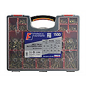 Forgefix Multi-Purpose Screw Set 1500 Piece