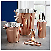Fox & Ivy Copper 5 Piece Cocktail Gift Set