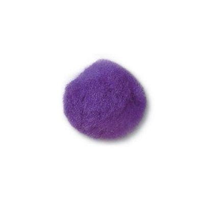 Impex Purple Pom Poms 35mm