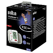 Braun BBP2000 Wrist Blood Pressure Monitor Cuff - White / Grey