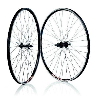 700 26mm Rear Black Double Wall Freewheel Nutted Wheel