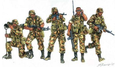 U.S. Infantry 90s - 1:72 Scale - Italeri