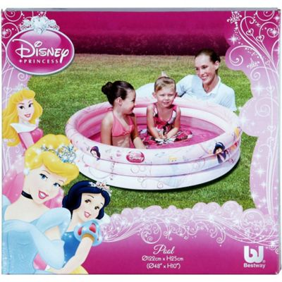 Disney Princess Inflatable Swim Paddling Pool 48 x 10