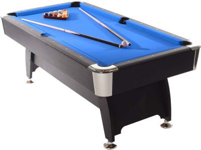 Strikeworth Pro American Deluxe 7ft Pool Table With Blue Cloth