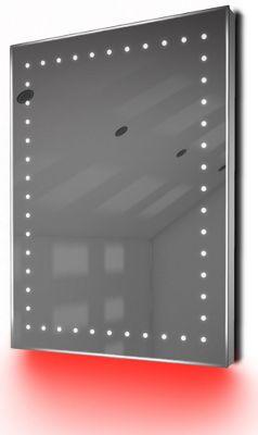 Ambient Ultra-Slim LED Bathroom Mirror With Demister Pad & Sensor K166R