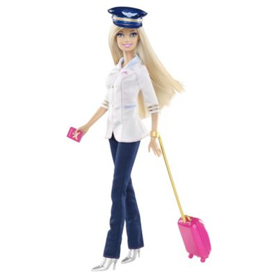 Barbie I Can Be Pilot Doll