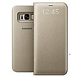 Samsung LED View Case for Galaxy S8 - Gold