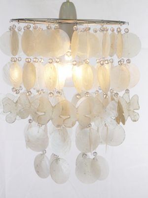 Loxton Lighting 1 Light Mobile Pendant - Natural