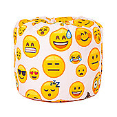 Emoji Girl Childrens Beanbag
