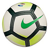 Nike Serie A Pitch Football - White/Green - White