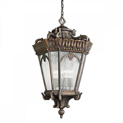 Londonderry Medium Chain Lantern - 1 x 100W E27