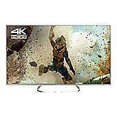 "Panasonic TX65EX700 65"" Smart 4K Ultra HD LED TV, HDR, A+ Energy Rating - Silver"