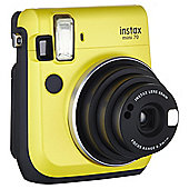 Instax Mini 70 Instant Camera, Yellow