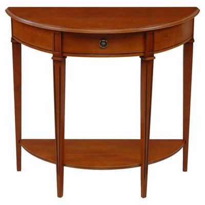 Origin Red Gloucester Half Moon Table