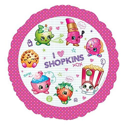 Shopkins Balloon - 18 inch Foil
