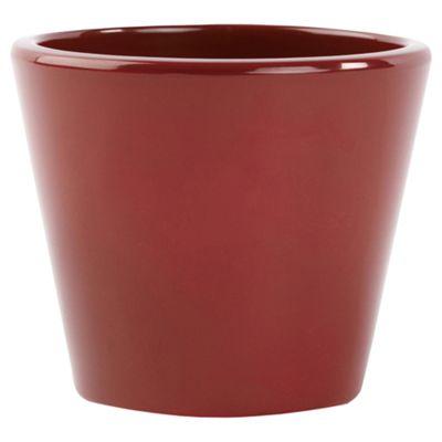 Ivyline Basic Plant Pot Red