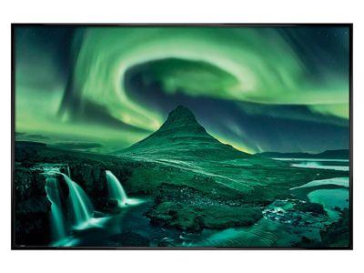 Gloss Black Framed Aurora Borealis Poster 61x91.5cm