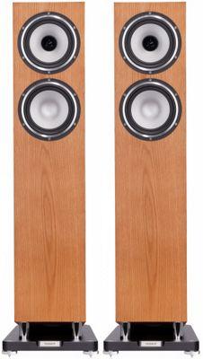 Tannoy Revolution XT6F Speakers Medium Oak