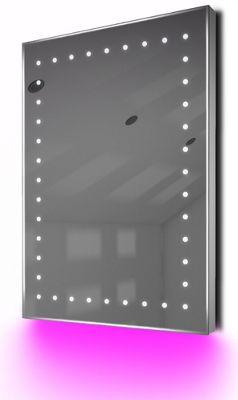 Ambient Shaver LED Bathroom Illuminated Mirror With Demister Pad & Sensor K169P