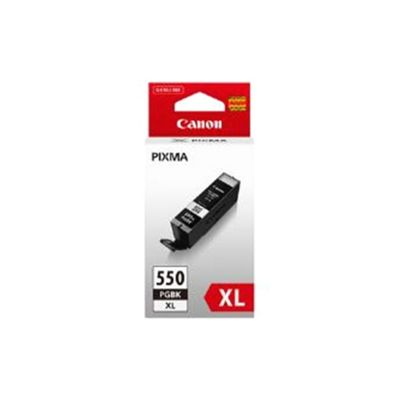 Canon PGI-550XL (Black) Ink Cartridge (Yield 620 Pages) XL with Security