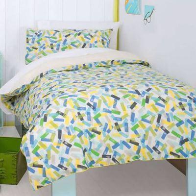 Blue Sprinkles Toddler / Junior Bedding Bundle 4.5 Tog 120 x 150