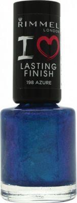 Rimmel I Love Lasting Finish Nail Polish 8ml - Azure