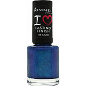 Rimmel I Love Lasting Finish Nail Polish 8ml - Azure