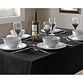 Select Round Tablecloth 90cm - Black